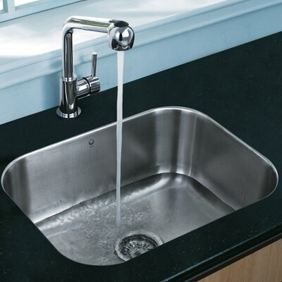 "Vigo 23"" x 17.75"" Undermount Kitchen Sink"