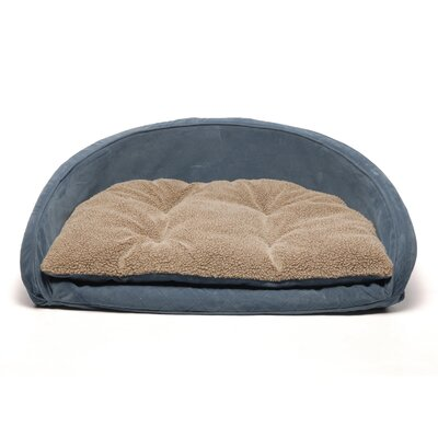 Everest Pet Ortho Kuddle Kup Dog Bed in Blue