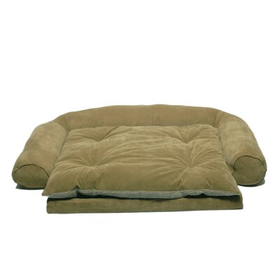Everest Pet Ortho Sleeper Comfort Couch® Dog Bed in Sage