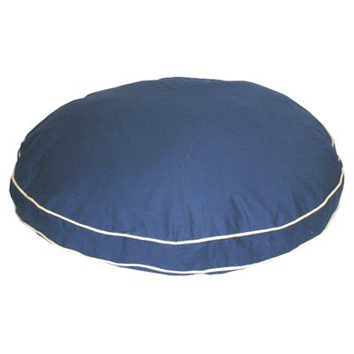 Everest Pet Twill Classic Round Dog Pillow
