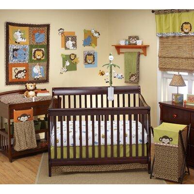 NoJo Zambia 4 Piece Crib Bedding Set