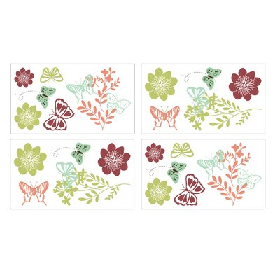 NoJo Alexis Garden Wall Decals