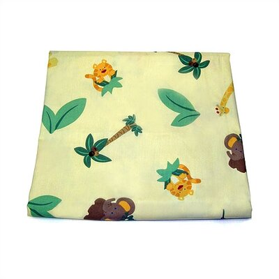 NoJo Jungle Babies Crib Sheet