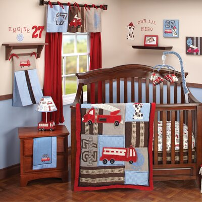 NoJo Engine 27 Crib Bedding Collection