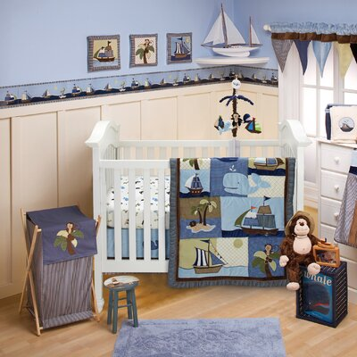NoJo Ahoy Mate! Crib Bedding Collection
