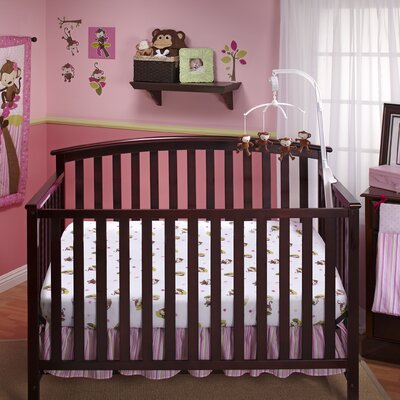NoJo 3 Little Monkeys 11 Piece Crib Bedding Collection