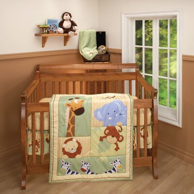 NoJo Safari Kids Crib Bedding Collection