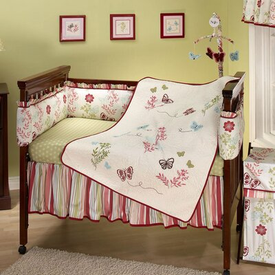 NoJo Alexis Garden Crib Bedding Collection