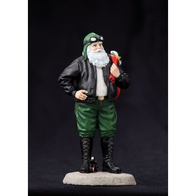 "Precious Moments ""Santa's Ride"" Santa with Motorcycle Figurine"