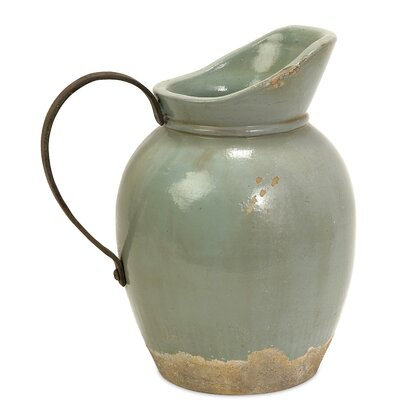 Calista Small Pitcher with Metal Handle