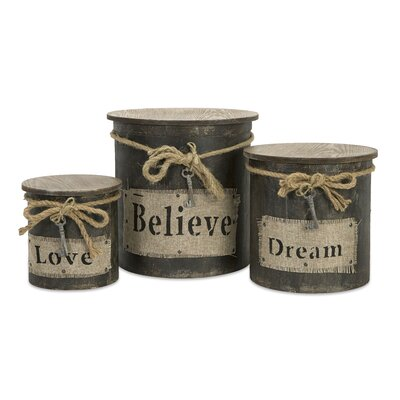 IMAX Magdaline Inspiration Boxes (Set of 3)