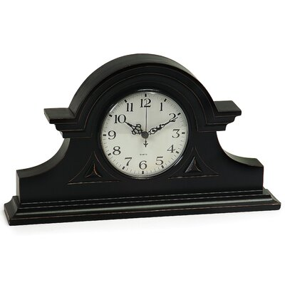 Mantel Clock in Black