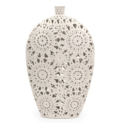 "IMAX 19"" Lacey Vase"
