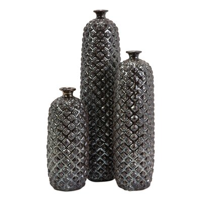 3 Piece Zurie Vase Set