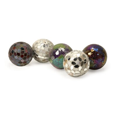 Abbot Mosaic Deco Ball (Set of 5)
