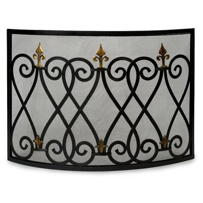 IMAX Mauresque Cast Iron Fireplace Screen