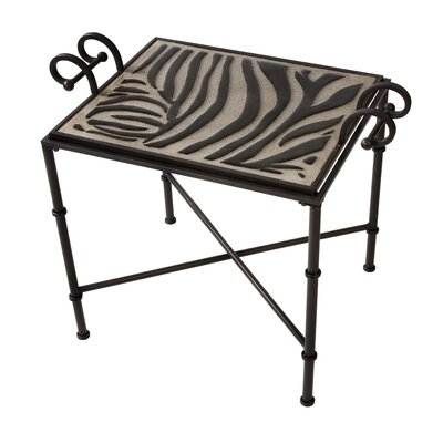 CK Grevy's Tray Top End Table