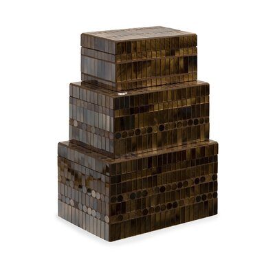 Chai Mosaic Boxes (Set of 3)