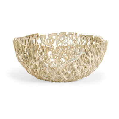 Wildon Home ® Vargas Cutwork Decor Bowl