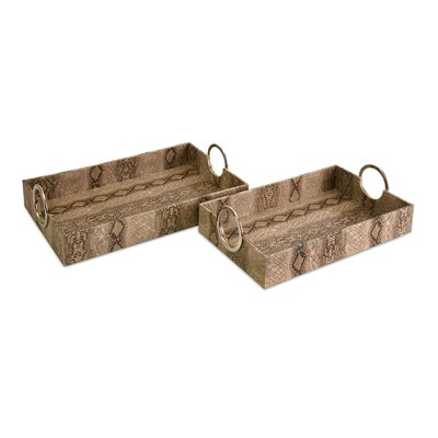IMAX Castel Trays (Set of 2)