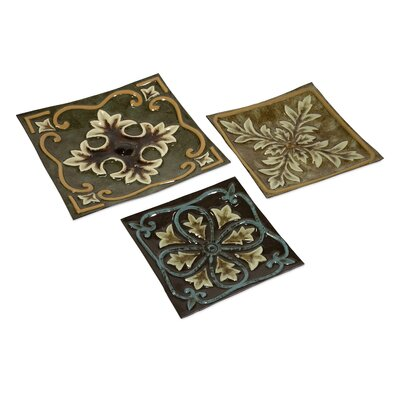 IMAX Casa Medallion Trays (Set of 3)
