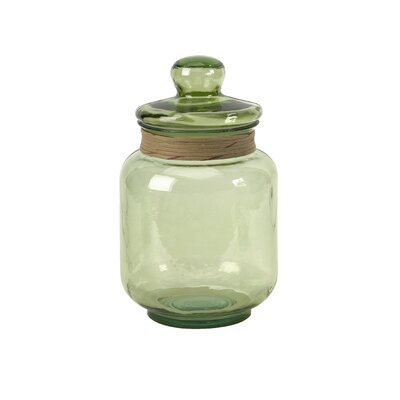 IMAX Sanzio Recycled Glass Canister