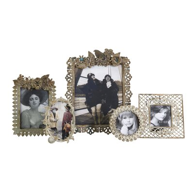 IMAX Trina Vintage Picture Frame (Set of 5)