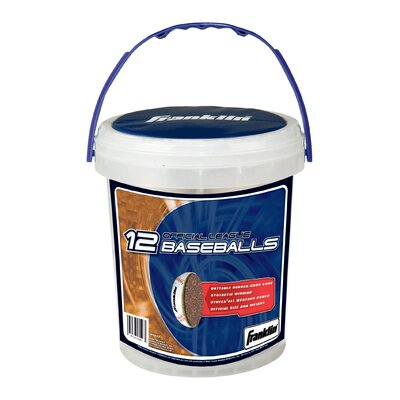 Franklin Sports MLB Official League Baseball Buckets (Set of 12)