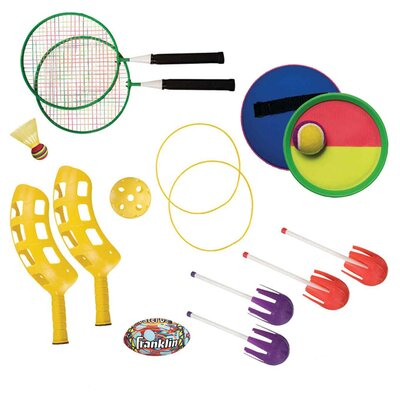 Franklin Sports Beach 5 Game Combo Set
