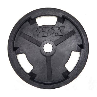 VTX by Troy Barbell  10 lbs Olympic Rubber Grip Plate