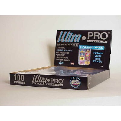 "Ultra Pro 2.75"" x 3.5"" Topps, Bowman Card Display Box (8 Pocket Pages)"