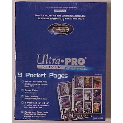Ultra Pro Silver Series Display Box (9 Pocket Pages)