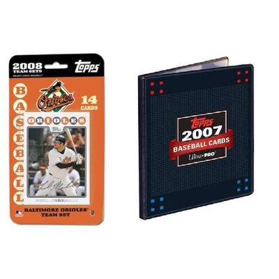 Topps MLB 2008 Trading Card Set - Baltimore Orioles