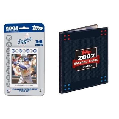 Topps MLB 2008 Trading Card Set - LA Dodgers