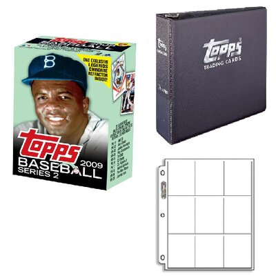 Topps MLB 2009 Cereal Box Trading Cards Set - Jackie Robinson