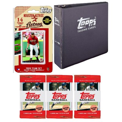 Topps MLB 2009 Trading Card Set - Houston Astros