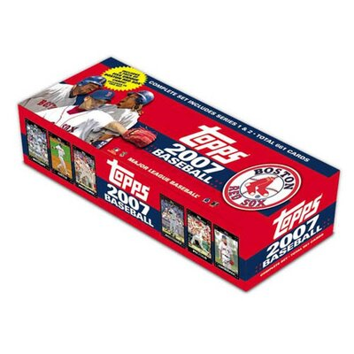 Topps MLB 2007 Factory Trading Card Set - Boston Red Sox