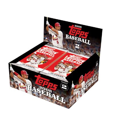 Topps MLB 2008 Trading Cards - Series 2 (24 Packs)