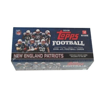 Topps NFL 2008 Factory Trading Card Set - New England Patriots