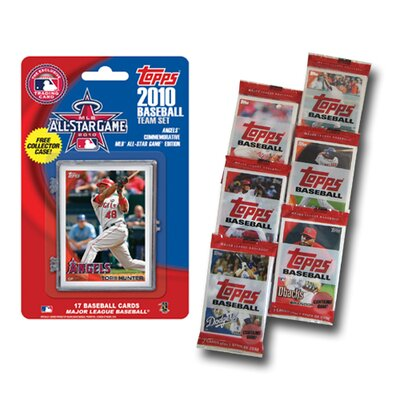 Topps MLB 2010 Team Set with Packs Trading Cards - Los Angeles Angels of Anaheim All Star Game Edition