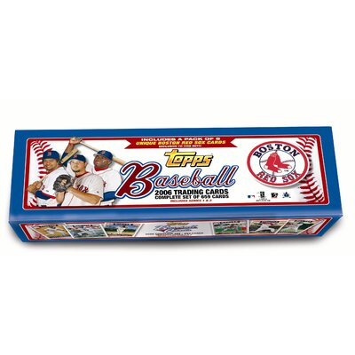 Topps MLB 2006 Factory Set Trading Cards - Boston Red Sox (Set of 664)