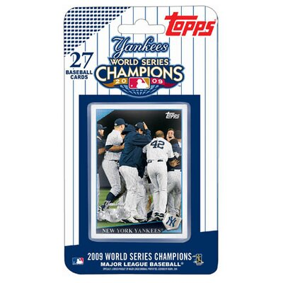 Topps 2009 World Series Champions Set Trading Cards - New York Yankees (27 Cards)