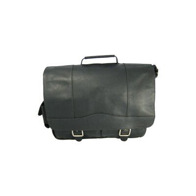 David King Full Flap Porthole Briefcase