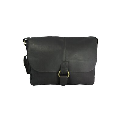 David King East/West 1/2 Flap Messenger Bag
