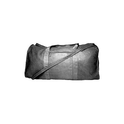 "David King 25"" Leather Travel Duffel"