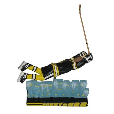 Team Beans NHL Big Head Bobber Figures - Goal - Boston Bruins