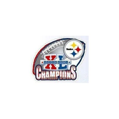 Team Beans NFL Super Bowl XL Steelers Car Magnet - Pittsburgh Steelers