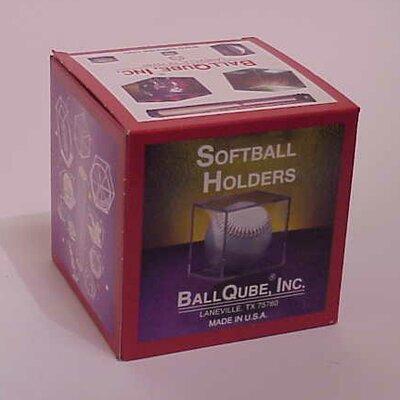 BallQube Softball Display Case