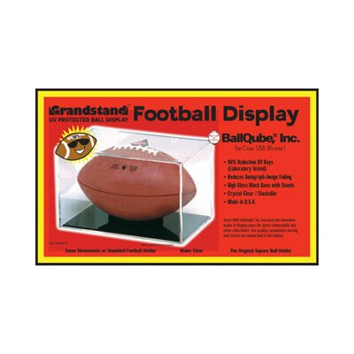 BallQube Grandstand UV Protective Football Display Case