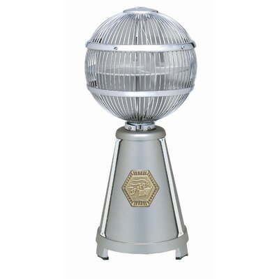 Fanimation Fargo Desktop Fan in Satin Nickel